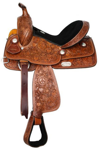 Leather Western Saddle WS-142 - Zohranglobal.com