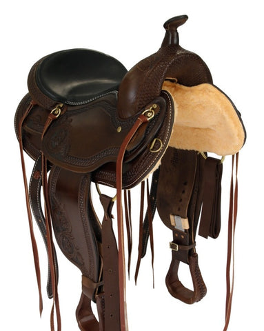 Leather Western Saddle WS-145 - Zohranglobal.com