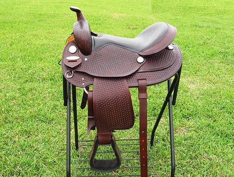 Leather Western Saddle WS-151 - Zohranglobal.com