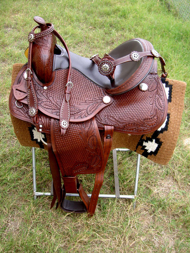 Leather Western Saddle WS-152 - Zohranglobal.com
