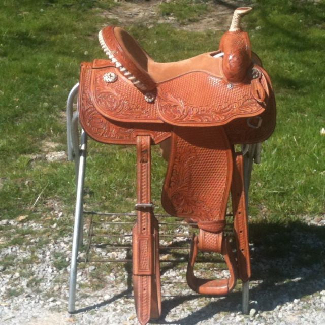 Leather Western Saddle WS-155 - Zohranglobal.com