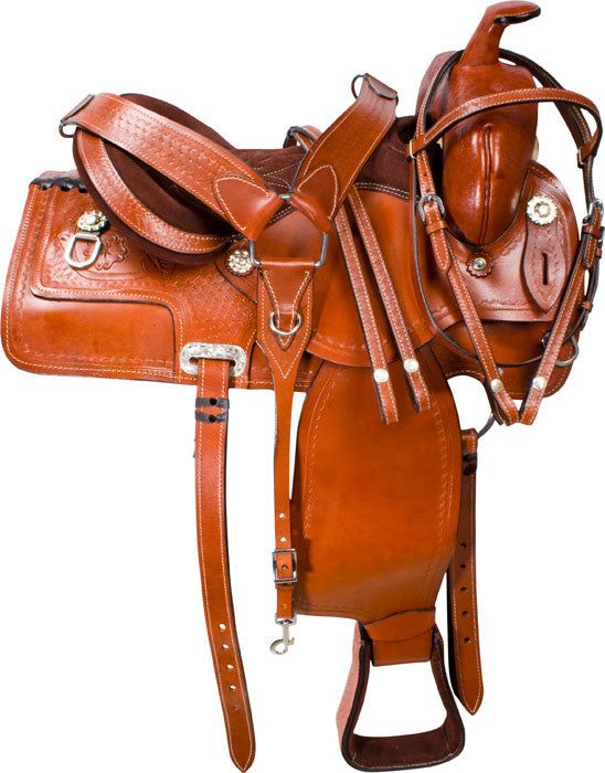 Leather Western Saddle WS-156 - Zohranglobal.com
