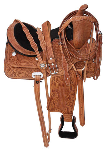 Leather Western Saddle WS-157 - Zohranglobal.com