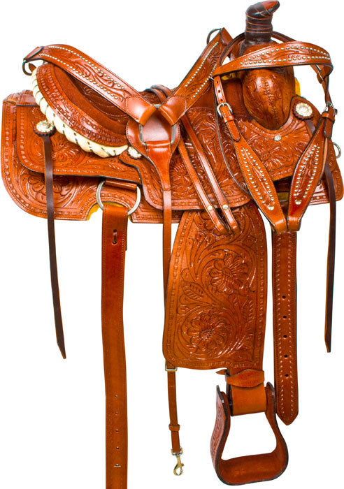 Leather Western Saddle WS-159 - Zohranglobal.com