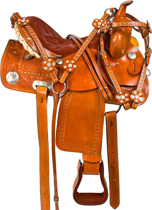 Leather Western Saddle WS-160 - Zohranglobal.com