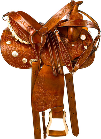 Leather Western Saddle WS-161 - Zohranglobal.com