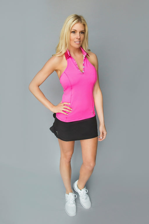 Halter Golf Polo - FlirTee Pink - FlirTee Golf