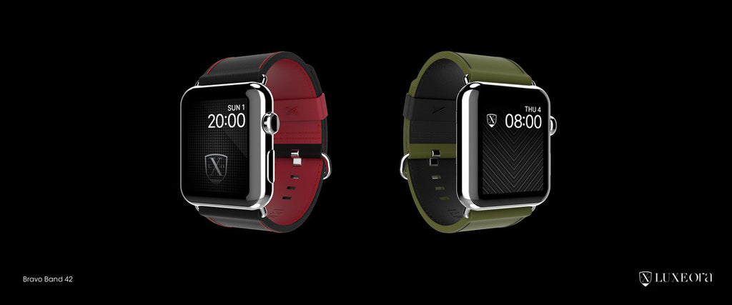 Luxury Tactical Bands for Apple Watch
