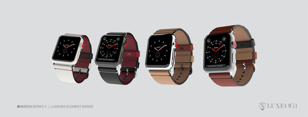 Apple Watch Series 3 - Luxeora watch bands