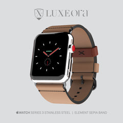 Luxeora Element Band Sepia