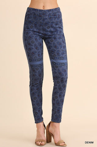 High Waisted Print Leggings