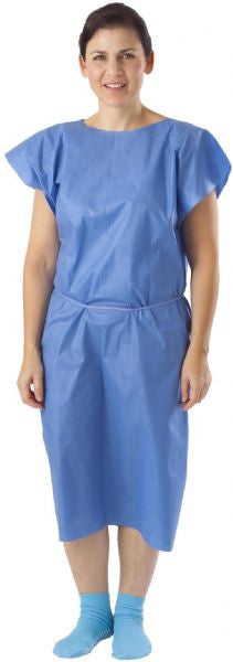 Disposable Multi Layer Patient Gowns (50 per Case) - BH Medwear