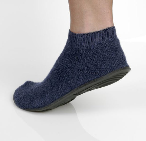 Terrycloth High Ribbed Ankle Slipper Sock (1 Dozen) - BH Medwear