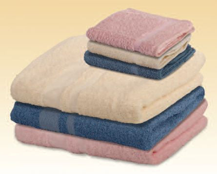 "BH""S Colored Terry Bath towels (5  Dozen) - BH Medwear"