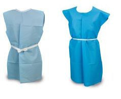 Plus size Patient Exam Gowns Side Opening - BH Medwear - 2