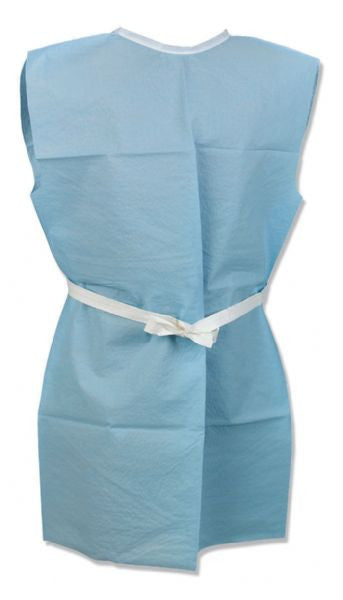 Non-woven Examination Gowns - Front/Back Opening (Case of 50) - BH Medwear