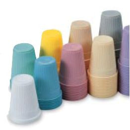 MULTI USE DRINKING PAPER CUPS, WAXED 3 oz - BH Medwear