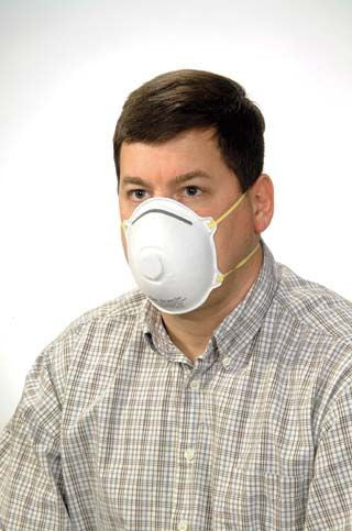 Safety Zone Brand Niosh Rated Masks With An Exhalation Valve (Case of 120) - BH Medwear
