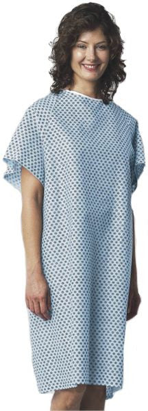 BHmedwear  Star Straight Back Closure Hospital Gowns (Dozen) - BH Medwear - 2