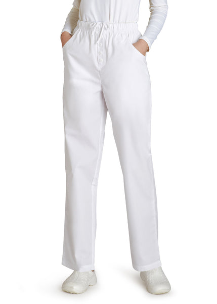 Adar Universal Natural-Rise Mock Fly Drawstring Tapered Leg Pants Tall - BH Medwear