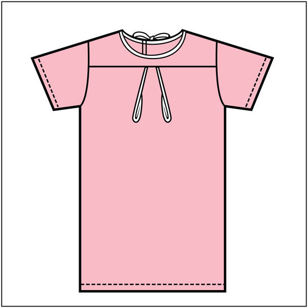 Pink B&H IV Mother's Gown - BH Medwear - 1