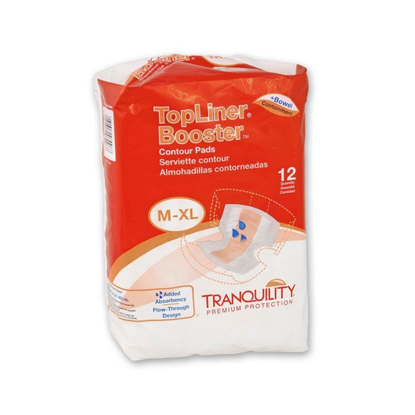 TopLiner Booster Contour pad (Case of 120) - BH Medwear