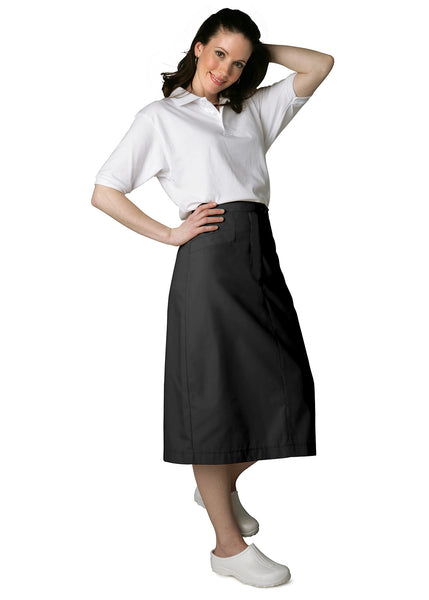 Adar Mid-Calf Length Angle Pocket Skirt - BH Medwear - 1