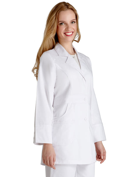 "Adar Universal 32"" Women's Perfection Labcoat - BH Medwear - 2"