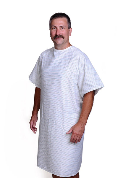 Classic Patient Hospital Gowns - BH Medwear - 1