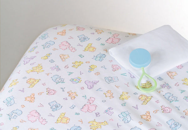 100% Cotton Woven Crib Sheet (1 Dozen) - BH Medwear