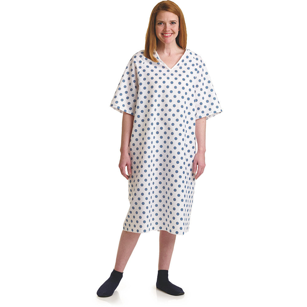 3XL Deluxe Cut Oversized Hospital Gowns - BH MedWear - BH Medwear