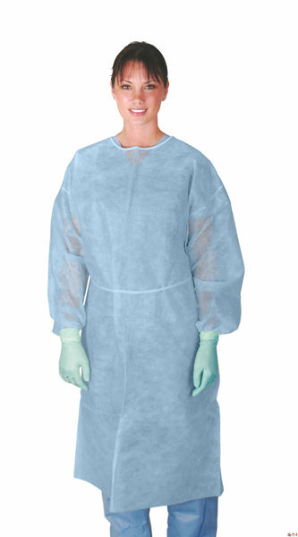 Classic Protection Polypropylene  Isolation Gowns (Case of 50) - BH Medwear - 3