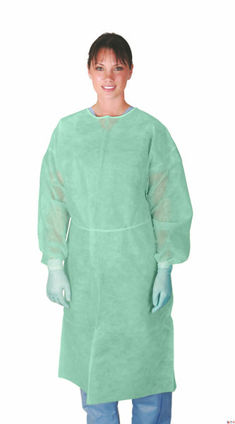 Classic Protection Polypropylene  Isolation Gowns (Case of 50) - BH Medwear - 1