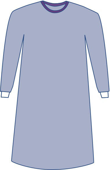 Sterile Non-Reinforced Sirus Surgical Gowns with Set-In Sleeves - BH Medwear