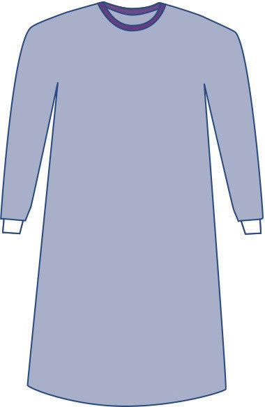Sterile Non-Reinforced Aurora Surgical Gowns with Set-In Sleeves case of 30 - BH Medwear