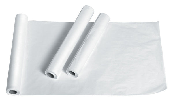 Examination Table Paper  Polyback Crepe White - BH Medwear