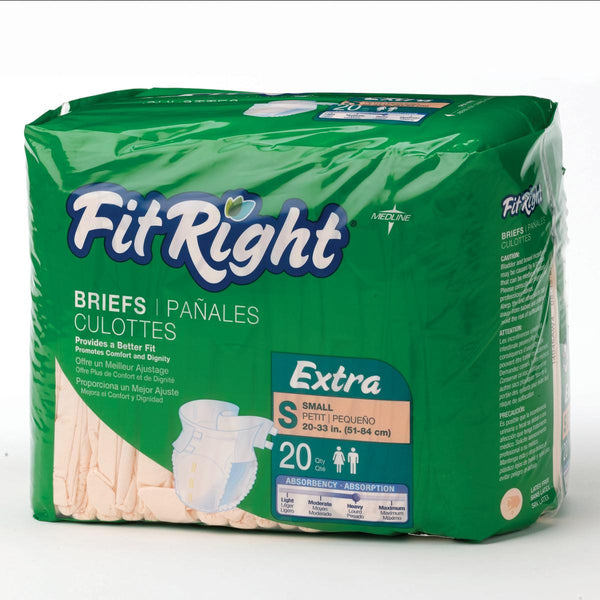 FitRight Adult Extra Briefs - BH Medwear - 1