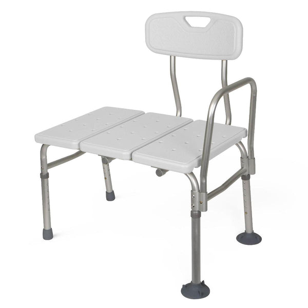 Aluminum Bath Benchs with Back - BH Medwear