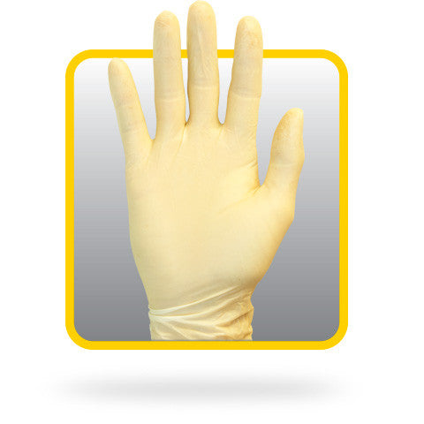 8 Mil Powder Free Latex, Rolled Cuff, Non-medical Disposable Gloves (Case of 1,000) - BH Medwear - 1
