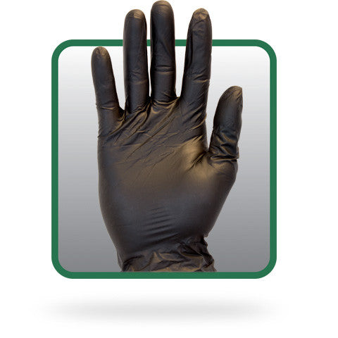 5 Mil Powder-free Black Vinyl, Non-medical Disposable Gloves (Case of 1,000) - BH Medwear - 1