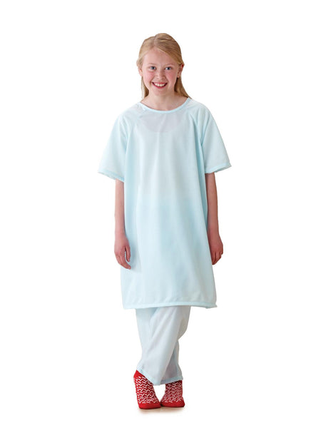 Snuggly Solids Pediatric Pajama Shirts (1 dozen) - BH Medwear - 2