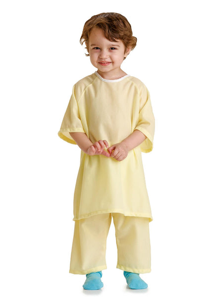 Snuggly Solids Pediatric Gowns (1 dozen) - BH Medwear - 2