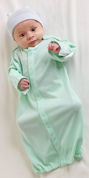 Infant IV Shoulder Snap Pediatric  Gowns (0 - 6 Months) - BH Medwear