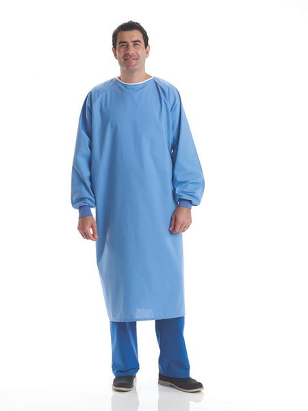 Cotton Blend Reusable Surgical Gown - BH Medwear - 1