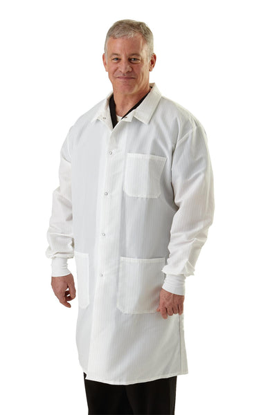 Resistant Men's Protective Lab Coats - BH Medwear - 2