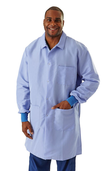 Resistant Men's Protective Lab Coats - BH Medwear - 1