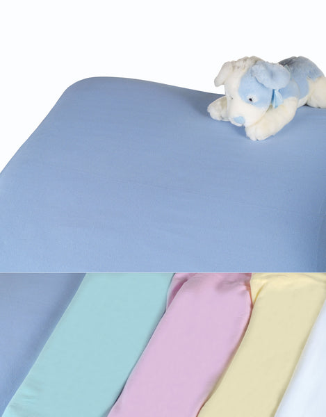 Colorful Knitted Crib Fitted Sheet (1 Dozen) - BH Medwear