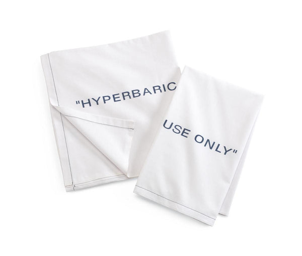 100% Cotton Hyperbaric Draw Sheets (2 Dozen) - BH Medwear