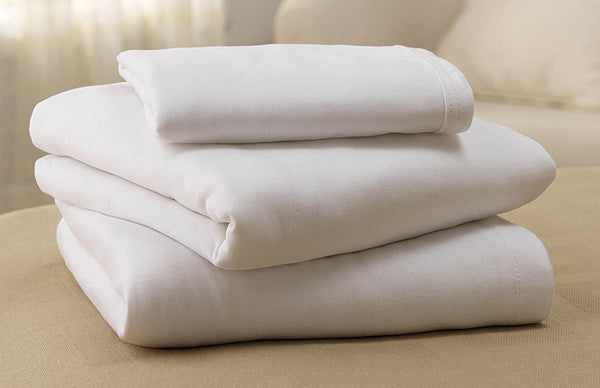 Soft-Fit Fitted Flat Sheets (1 Dozen) - BH Medwear