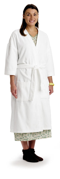 Cotton Terry Velour Robe - BH Medwear